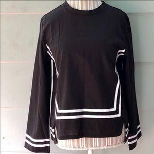 Tops - Black/white top